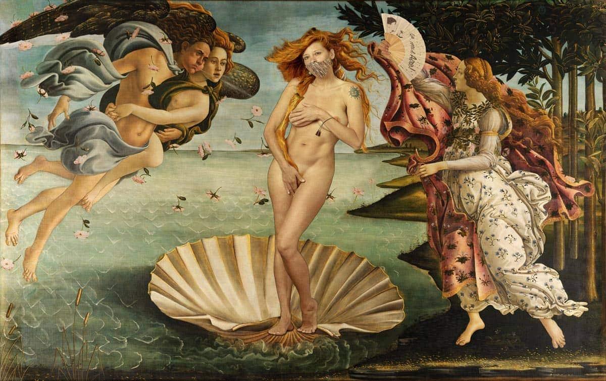 Botticelli La Nascita Di Venere