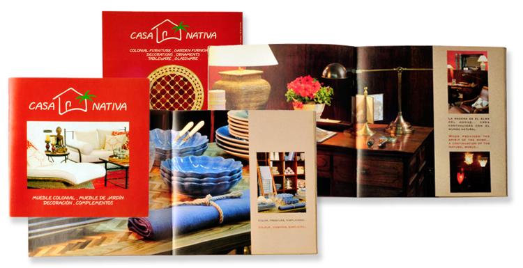 Fotografías y diseño catálogo Casa Nativa